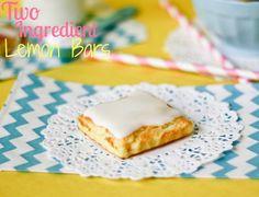 2 Ingredient Lemon Bars by cookbookqueen