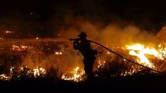 07/23/2016 - More evacuations ordered as 11,000-acre brush fire near Santa Clarita continues to burn out of control