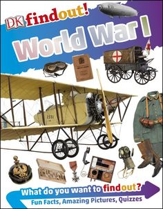 DK Discovery Day ~ DK Findout! World War I ~ GIVEAWAY!