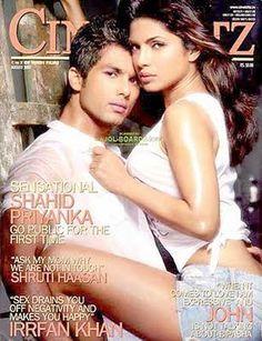 Shahid Kapoor and Priyanka Chopra on CINE BLITZ