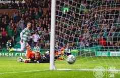 Celtic 4-1 Kilmarnock, 15th April 2015. Leigh Griffiths scores for Celtic.
