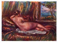 Renoir, Pierre-Auguste: Odaliske - Gemeinfrei