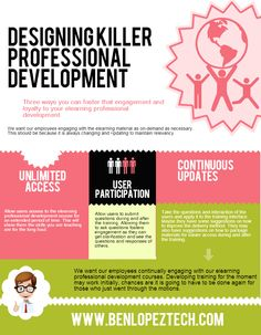 Designing Killer eLearning Professional Development | @BenLopezTech