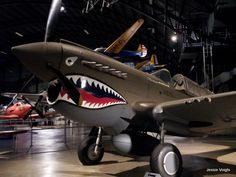P 40 Aleutian Tiger Nose Art Eleventh Fighter Squadron