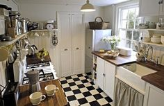 Inspiration: Small Kitchens | The Occasional Affair