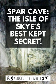 The Definitive Guide to Visting Spar Cave, Isle of Skye – Best Travel Destinations Scotland Road Trip, Scotland Vacation, Scotland Travel, Ireland Travel, Isle Of Mull, Scottish Highlands, Highlands Scotland, Scotland Castles, Living In Europe