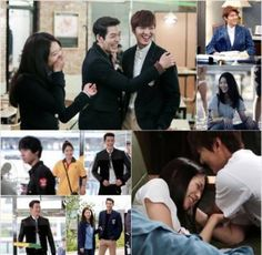 The cast of 'Heirs' have fun with each other in BTS photos