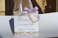 Elegant  wedding/birthday party favor bags by steppnout on Etsy, $1.00