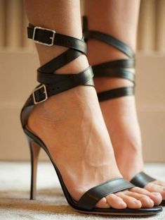 See the best heels, boots, sandals, and shoes by Gianvito Rossi on Your Next Shoes! Black High Heels, High Heels Stilettos, Stiletto Heels, Thigh High Boots, High Heel Boots, Shoe Boots, Mode Shoes, Next Shoes, Beautiful Shoes