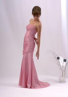 Abendkleid Gala, elegant, pastell rosa