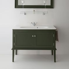 Bathroom Sink Units, Loft Bathroom, Upstairs Bathrooms, Small Bathroom, Bathroom Styling, Bathroom Interior Design, Vanity Basin, Victorian Bathroom, Vintage Bathroom Vanities
