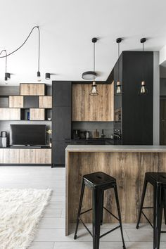 Small Modern Industrial Apartment Decoration Ideas – Decorating Ideas - Home Decor Ideas and Tips Industrial Apartment, Industrial Living, Industrial Interiors, Modern Industrial, Industrial Bedroom, Industrial Design, Kitchen Industrial, Industrial Decorating, Industrial Furniture