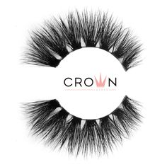 Crown Lashes Mink Fake Eyelashes in style Risk Taker Fake Lashes, 3d Mink Lashes, Eyelashes, Super Natural, Latex Free, Makeup Yourself, Cruelty Free, Crown, Band