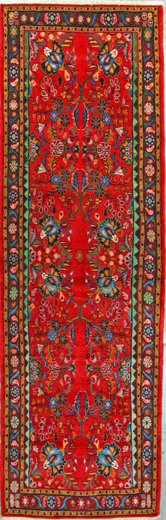 Buy Hamadan Persian Rug x Authentic Hamadan Handmade Rug Persian Rug, Bohemian Rug, Oriental, Old Things, Carpet, Patterns, Rugs, Handmade, Stuff To Buy