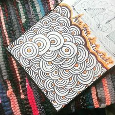 They day the right way to doodle is while being distracted. Circles, Doodles, Sketches, Drawings, Day, Instagram Posts, Cards, Map, Drawing