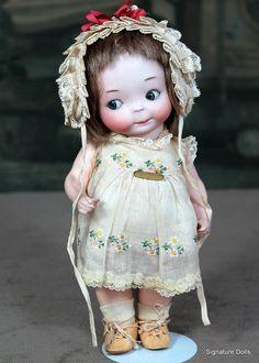 Rare 241 googly in Original Clothing Darling!