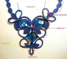 Tutorial Macrame' per realizzare una collana (S. Salvioli)