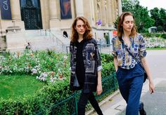 Lia e Odette Pavlova - Julho 2016 (Paris Haute Couture Fall 2016)