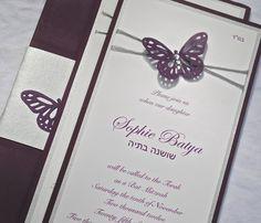 Custom Butterfly Invitations | Bee Inspired Handmade – Bee Inspired Handmade Wares