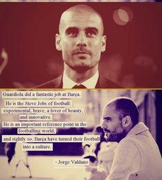 Thanks Guardiola