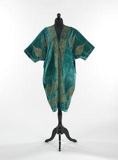 Evening coat by Mariano Fortuny ca 1920