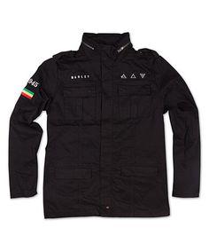 Look at this #zulilyfind! Marley Black Military Jacket by Marley Apparel #zulilyfinds