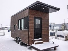 Sequoia Tiny House on Wheels by Minimalistein Quebec, Canada.