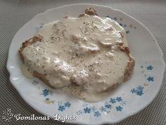 Comilonas Lights: Lomo de cerdo con salsa de queso azul