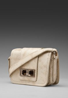 REBECCA MINKOFF Mini Box in Gold Snake at Revolve Clothing - Free Shipping!
