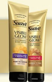 Suave Professionals Visible Glow Giveaway (50,000 Winners) - Raining Hot Coupons