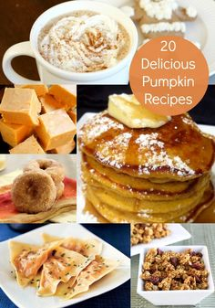 20 Delicious Pumpkin Recipes For Fall