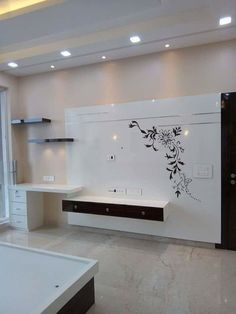 Get amazing Ceiling Design for your home, office and any building of your choice Lcd Panel Design, Bedroom Tv Wall, Bedroom False Ceiling Design, Modern Tv Wall Units, Tv Wall Design, Wall Unit Designs, Tv Design, Ceiling Design Modern, Tv Wall Decor