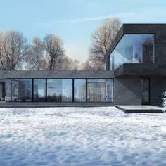 Habitações translation missing: pt.style.habitações.minimalista por  Aleksandr Zhydkov Architect