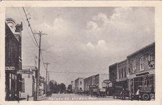 Nelson Street, VIRDEN, Manitoba, Canada, PU-1928