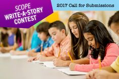 Encourage your middle school students to enter #ScholasticScope's fabulous fiction writing contest! Your class could win BIG prizes!
