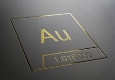 Au Branding / The overlapping theme of the identity is represented by Fibonacci's golden ratio. The logo is designed keeping the golden section in close consideration / on TTL Design