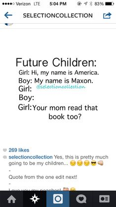 I am starting to get the feeling that the next generation is going to be named after a whole lot of books! :)