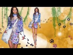 Just Cavalli at the Milan Fashion Week 2013:Fashion Illustration Tutorial - YouTube