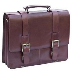 e222cd69c5fc Laptop style leather satchel bag from Prime Hide - Soft leather finish -  removable padded section