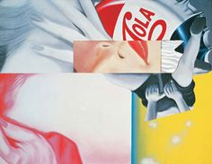 James Rosenquist, Vestigial Appendage, 1962 This is season appropriate. James Rosenquist, Growth And Decay, Claes Oldenburg, Pop Art Movement, Jasper Johns, Roy Lichtenstein, Art Curriculum, Collage Making, Sonic Art