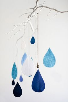 raindrops mobile