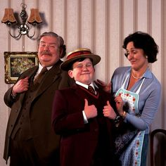 """The Dursleys want to be ordinary, average, and normal, and Harry Potter prevents the possibility of all this, which is terrifying to them."" - Richard Griffiths #HarryPotter #UncleVernon #Dursleys #RIPRichardGriffiths"