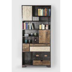Βιβλιοθήκη Finca 2 Doors 6 Drw  Η ethnique σειρά finca θα σας συναρπάσει . Αποτελείτε από πολλά έπιπλα για να καλύψει όλες τις ανάγκες σας.  €1.999 Book Worms, Bookcase, Shelves, Home Decor, Shelving, Decoration Home, Room Decor, Book Shelves, Shelving Units