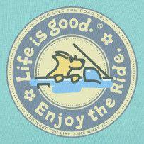 Enjoy The Ride. #Lifeisgood #Optimism #Dog