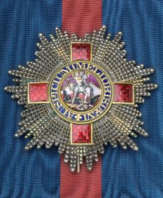 G.C.M.G.,  rare early Knight Grand Cross breast star, 80mm dia., awarded to Count Demetrio Valsamachi of Corfu and Cephalonia (1785-1870).