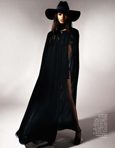 Jourdan Dunn in Saint Laurent Paris, Spring 2013 photographed by Jan Welters for Vogue Spain, February 2013