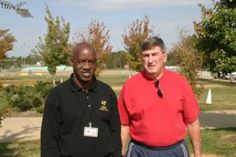 "Coach Harold Jones and James Robert Kennedy ""Radio"""
