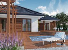 Jeremiasz 2 PS - zdjęcie 3 Plans, Grenada, House Design, Outdoor Decor, Home Decor, Patio, Projects, Granada, Decoration Home