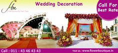 Wedding Decoration in Delhi - Flower Boutique: Online Flower Delivery in Delhi India, Buy Flowers Online Buy Flowers Online, Online Flower Delivery, Flower Boutique, Wedding Flower Decorations, Wedding Ceremony, Hospitals, Make It Yourself, Career, India Wedding