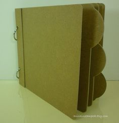 Love this simple album....perfect for a beginner scrapbooker!